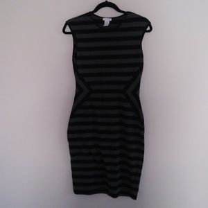 Cache Black and Gray dress